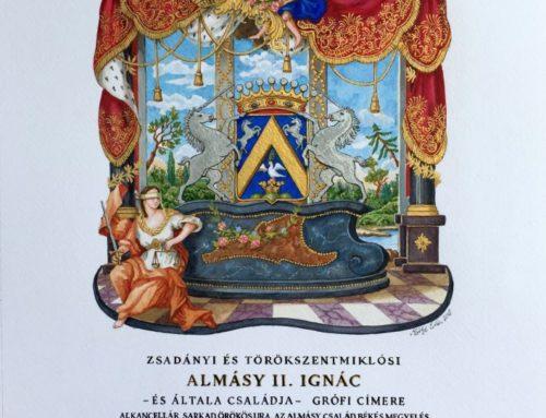 Almásy II. Ignác grófi címere, 1815