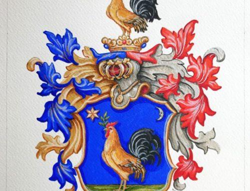A pásztói Legény család címere