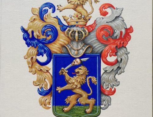 A Szalay család nemesi címere, 1694