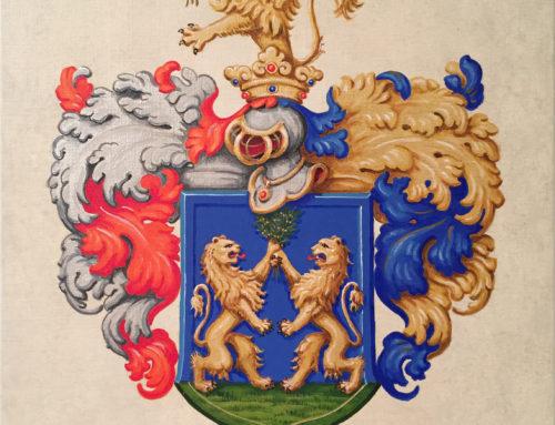 A nemes Skreka család címere, 1687